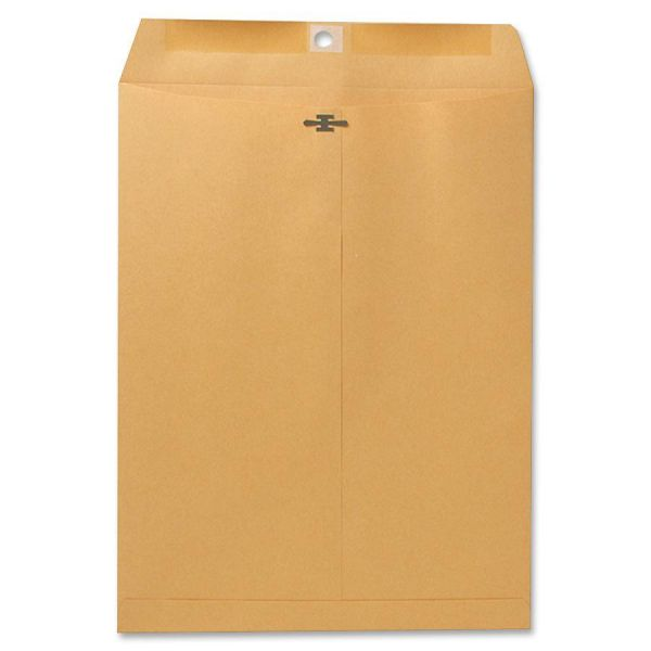 "Sparco Gummed 9 1/2"" x 12 1/2"" Clasp Envelopes"