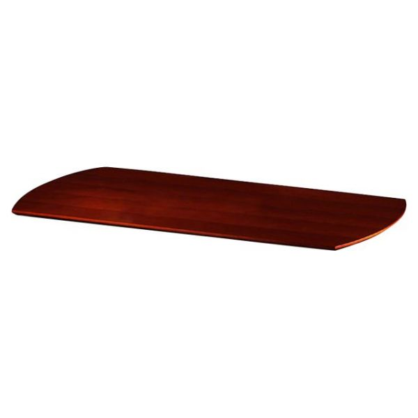 Tiffany Industries Napoli Series Desk Top With Modesty Panel, 63w x 36d, Sierra Cherry