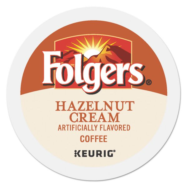 Folgers Gourmet Selections Hazelnut Cream Coffee K-Cups