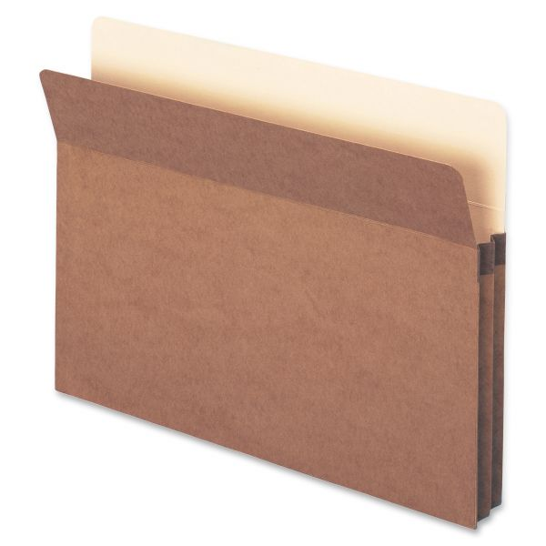 Smead TUFF Pocket Easy-Access Redrope Expanding File Pockets