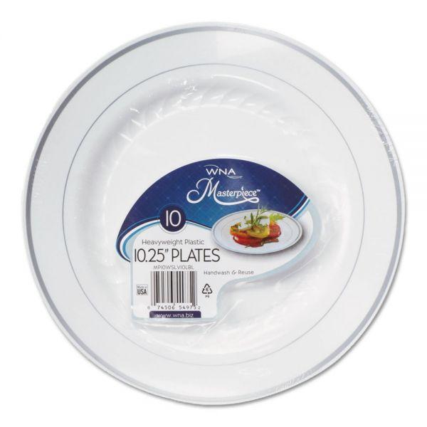 "WNA Masterpiece 10.25"" Plastic Plates"