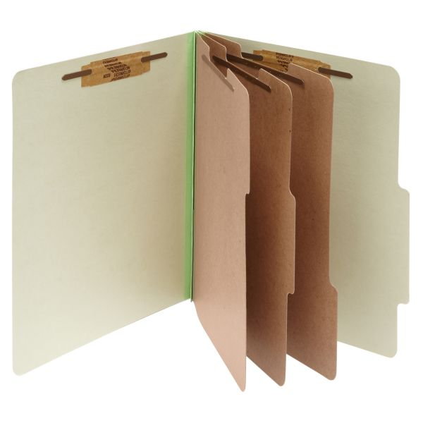 Acco 3-Divider Pressboard Classification Folders