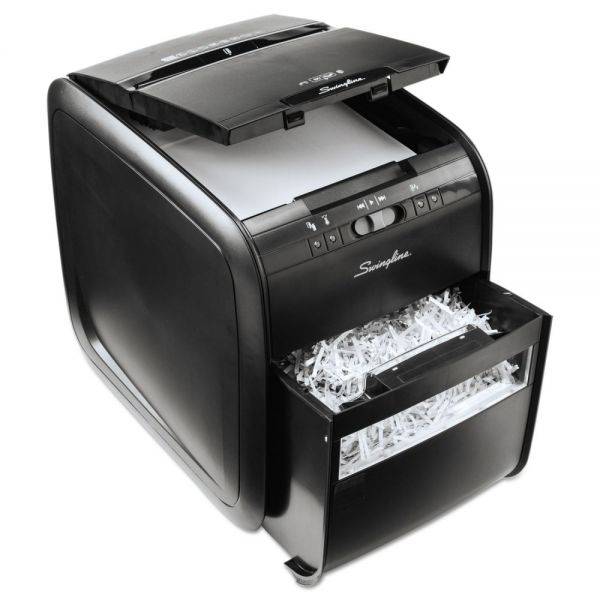 Swingline Stack-and-Shred 80X Hands Free Cross Cut Shredder