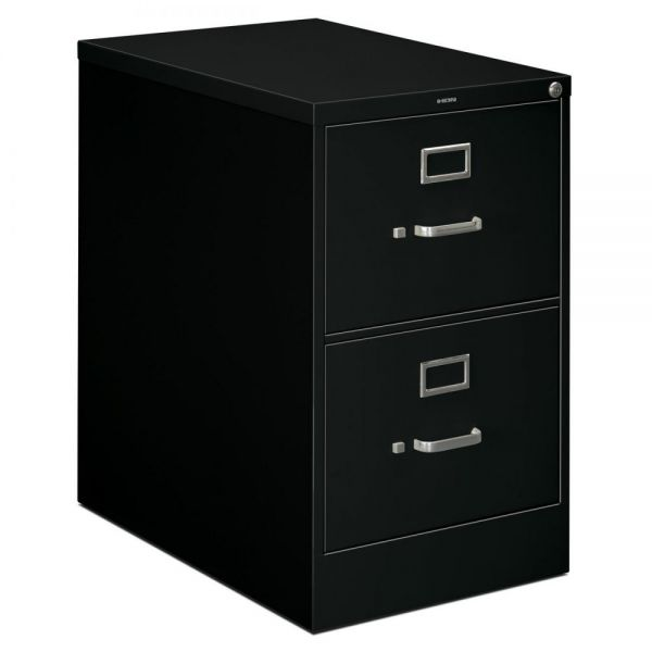 "HON 320 Series Vertical File | 2 Drawers | Legal Width | 26-1/2""D"