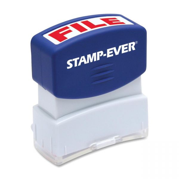 U.S. Stamp & Sign Pre-inked File Stamp