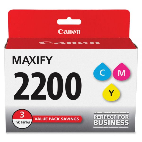 Canon PGI-2200 CMY Ink Cartridges