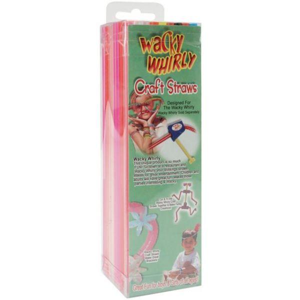 Wacky Whirly Craft Straws