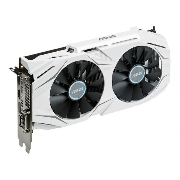 Asus DUAL-GTX1060-O6G GeForce GTX 1060 Graphic Card - 1.59 GHz Core - 1.81 GHz Boost Clock - 6 GB GDDR5 - PCI Express 3.0 - Dual Slot Space Required