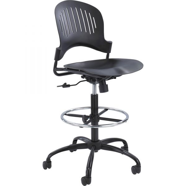 Safco Zippi Plastic Extended-Height Chair