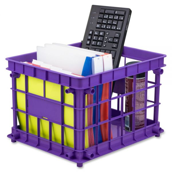 Storex Storage Crate
