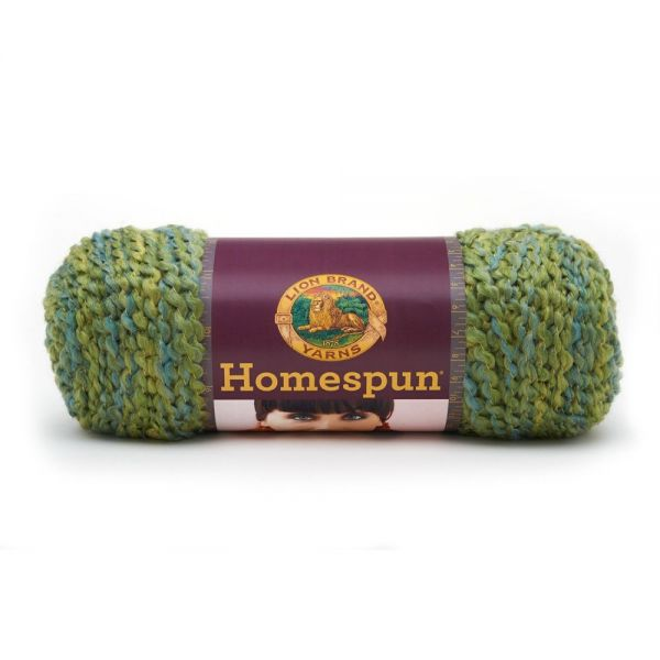 Lion Brand Homespun Yarn - Pesto