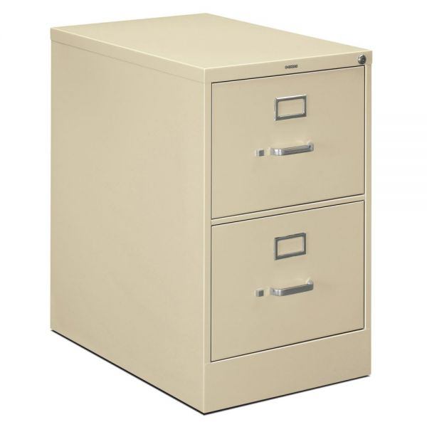 HON 320 Series 2-Drawer Vertical File Cabinet