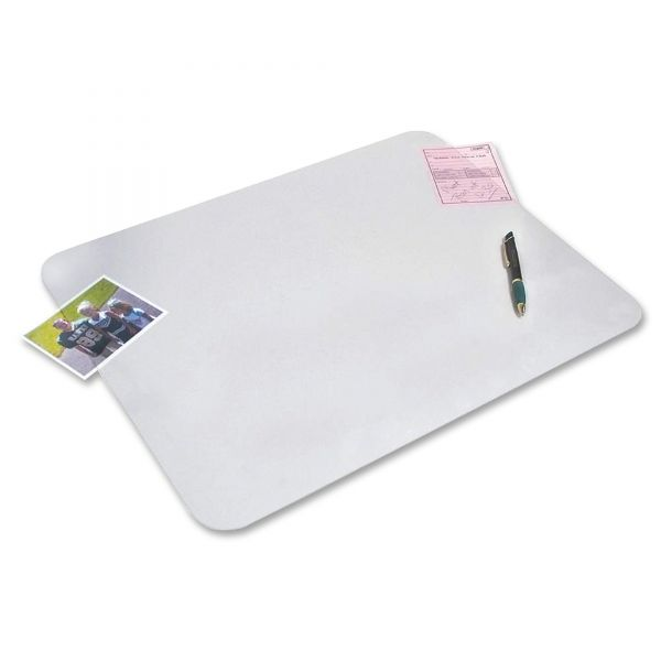 Artistic KrystalView Desk Pad with Microban, Matte Finish, 36 x 20, Clear