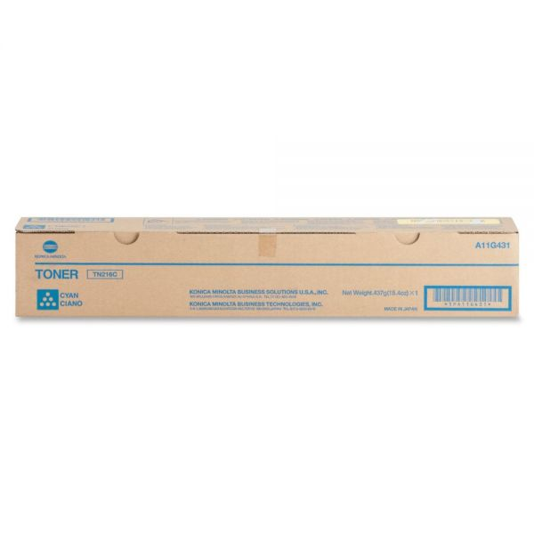 Konica Minolta TN-216C Cyan Toner Cartridge