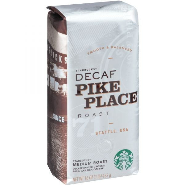 Starbucks Ground Coffee - Decaf (1 lb)