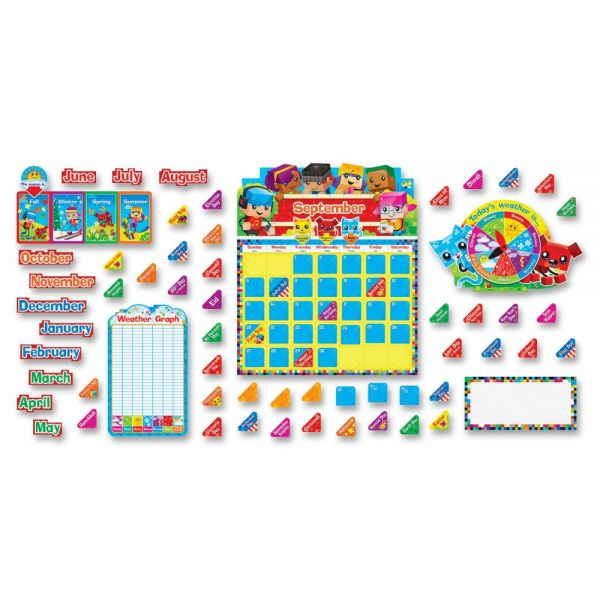 Trend BlockStars Calendar Bulletin Board Set
