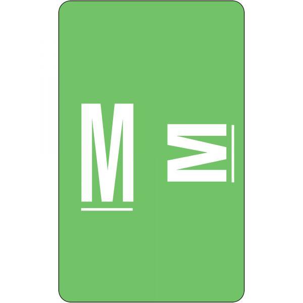 Smead AlphaZ ACCS Color-Coded Alphabetic Label - M