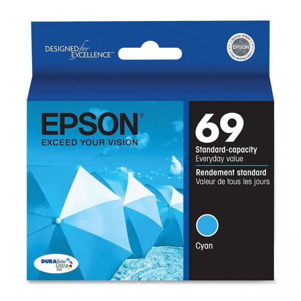 Epson 69 Cyan Ink Cartridge