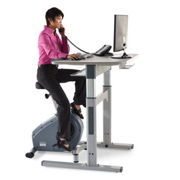 LifeSpan C3-DT7 Standing Bike Desk