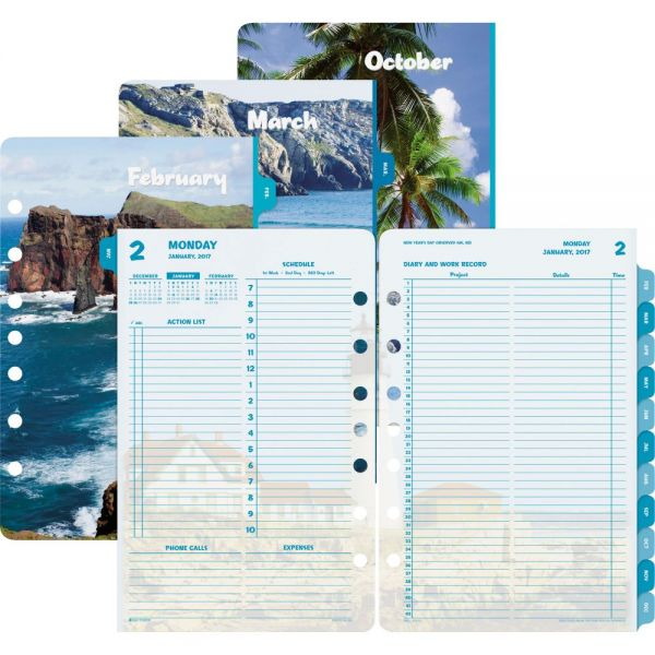 Day-Timer Coastlines 2PPD Planner Refill