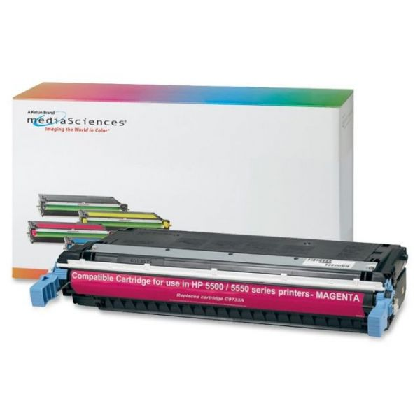 Media Sciences Remanufactured HP 645A Magenta Toner Cartridges