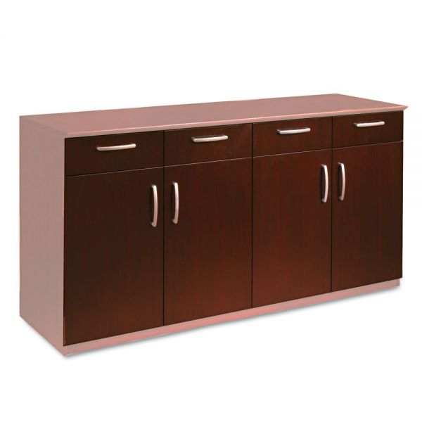 Tiffany Industries Buffet Credenza Doors/Drawers, Sierra Cherry Finish