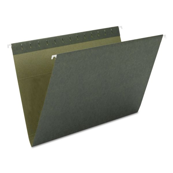 Smead 64010 Standard Green Hanging File Folders