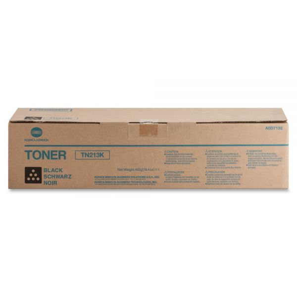 Konica Minolta TN-213K Black Toner Cartridge