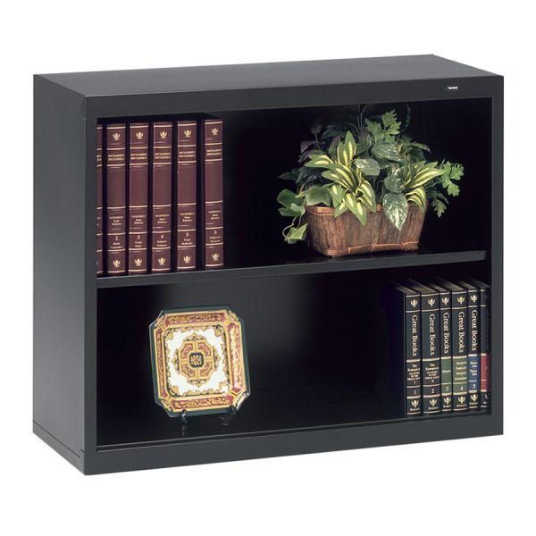 Tennsco Deep 2-Shelf Welded Steel Bookcase