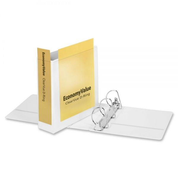 """Cardinal EconomyValue ClearVue 3"""" 3-Ring View Binder"""