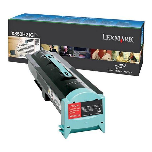 Lexmark X850H21G Black Toner Cartridge