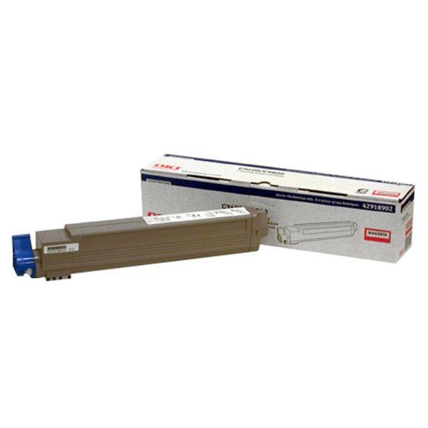 Oki 42918902 Magenta Toner Cartridge