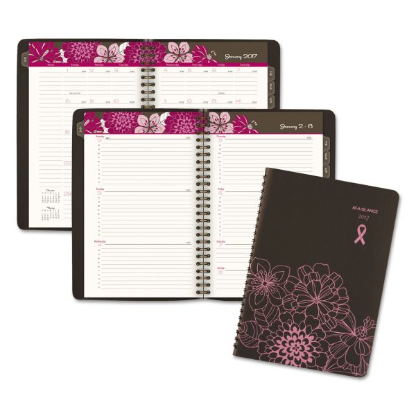 At-A-Glance Sorbet Breast Cancer Awareness Weekly/Monthly Appointment Book