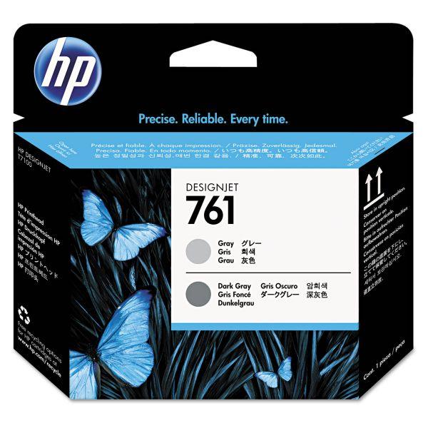 HP 761, (CH647A) Dark Gray/Gray Printhead