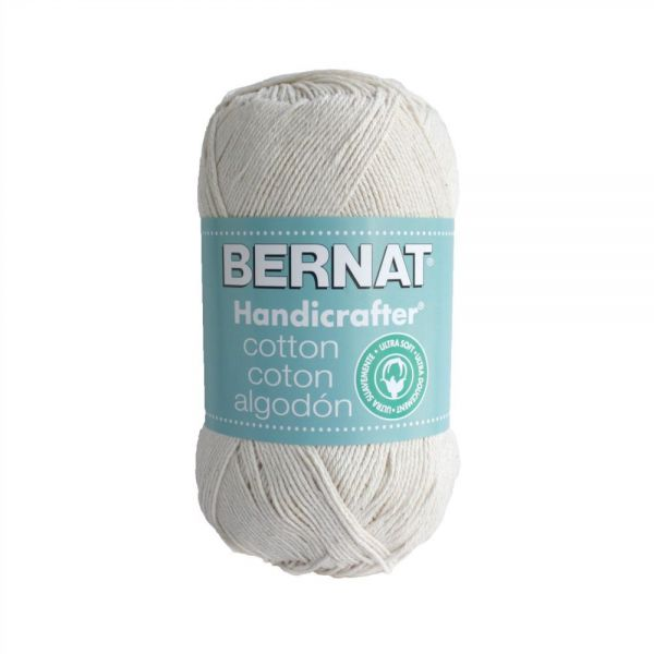 Bernat Handicrafter Cotton Yarn - Off White