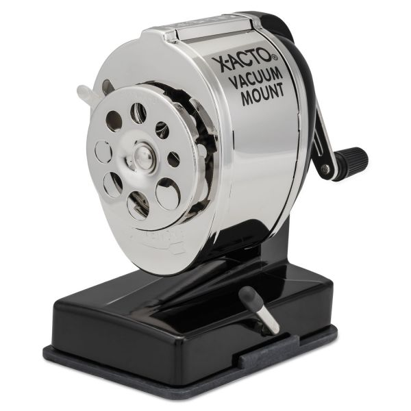 Elmer's X-Acto Vacuum Mount Manual Pencil Sharpener