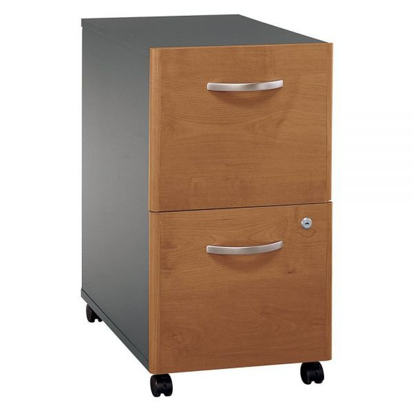 bbf Series C Two-Drawer Pedestal by Bush Furniture