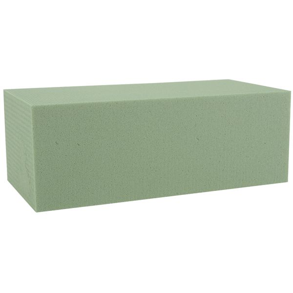 "Dry Foam Blocks 2.875""X3.875""X7.875"" Bulk"