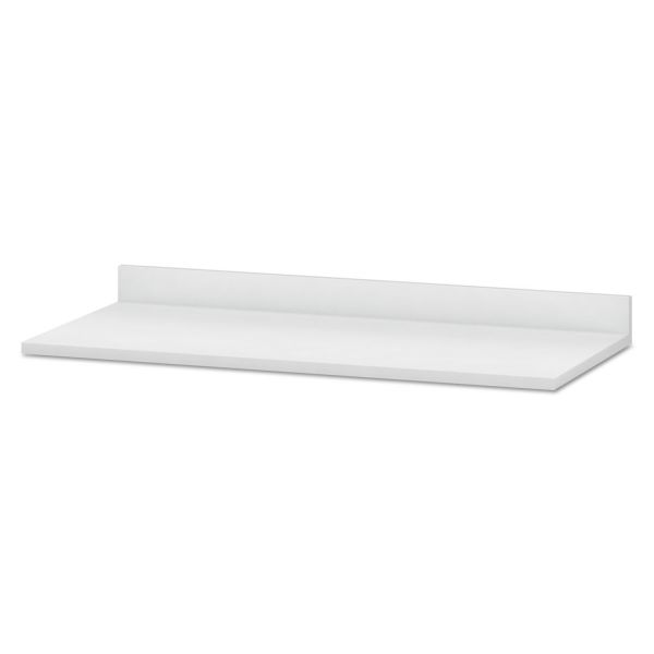 HON Hospitality Cabinet Modular Countertop, 54w x 25d x 4-3/4h, Brilliant White
