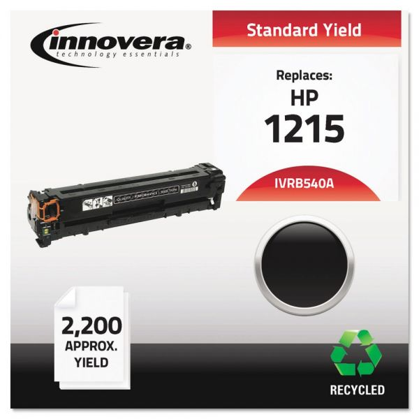 Innovera Remanufactured HP 125A (CB540A) Toner Cartridge