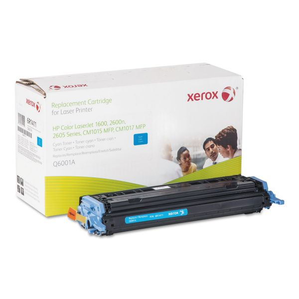 Xerox Remanufactured HP Q6001A Cyan Toner Cartridge