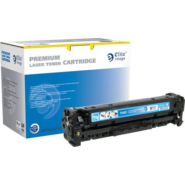 Elite Image Remanufactured HP CC531A Toner Cartridge