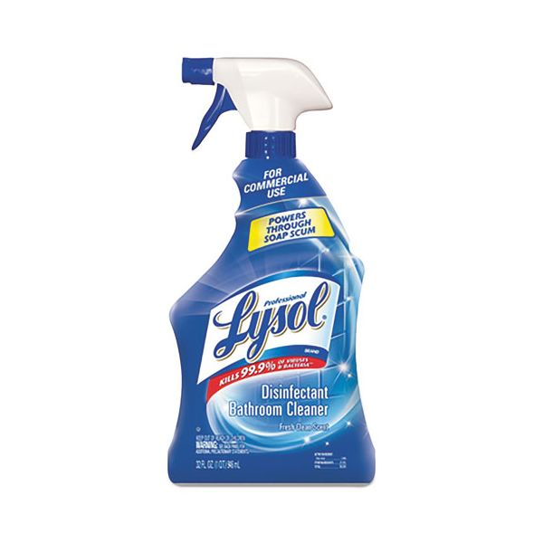 Professional LYSOL Brand Pro Basin/Tub/Tile Cleaner, 32oz Spray Bottle
