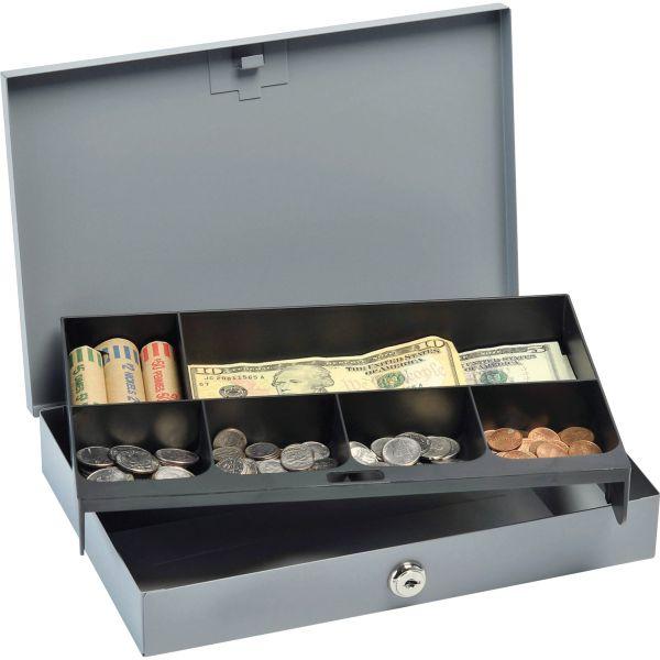 MMF Heavy-gauge Steel Cash Box