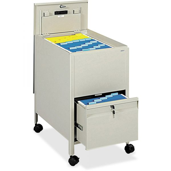 Safco Rollaway Letter File Cart