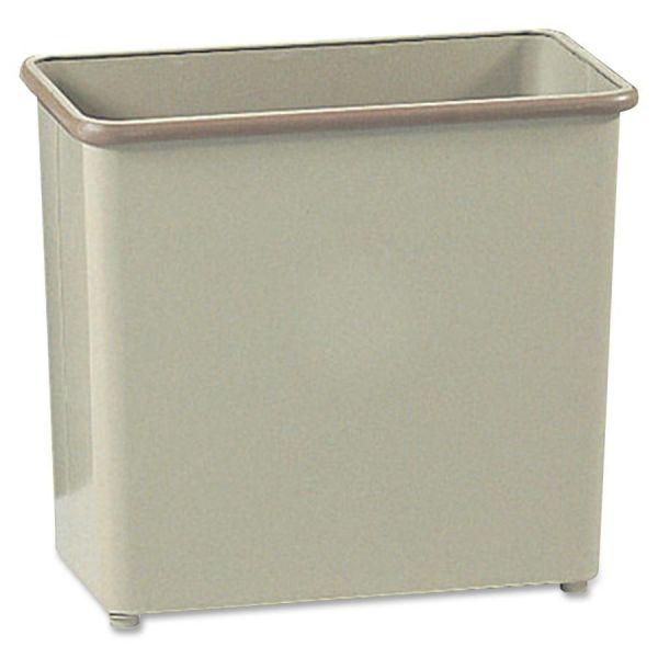 Safco Fire-Safe Rectangular 7 Gallon Trash Can