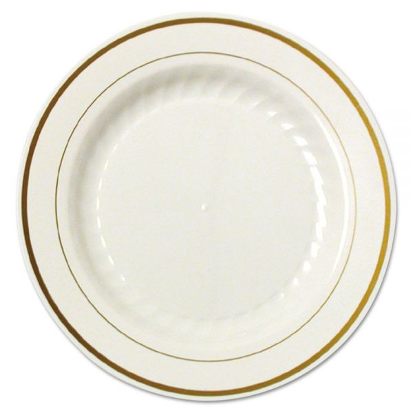 "WNA Masterpiece 6"" Plastic Plates"