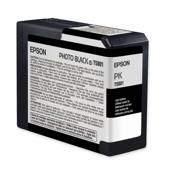 Epson T5801 Photo Black Ink Cartridge