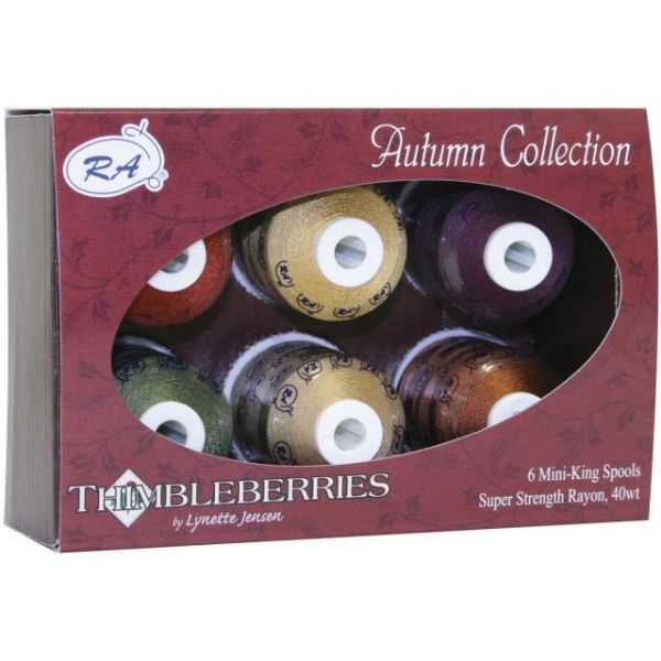 Thimbleberries Rayon Thread Collection