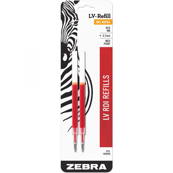 Zebra JF Jimnie Gel Roller Ball Pen Refills